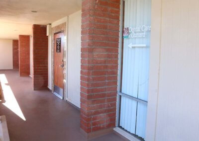 Oxnard Dental office walkway -min