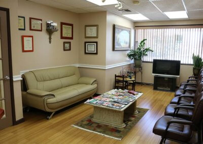 dental waiting room for Oxnard dentist -min